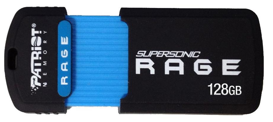 Купить Флешка USB Patriot Supersonic Rage 128 ГБ (PEF128GSRUSB)
