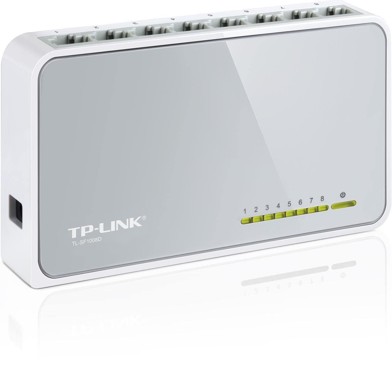 Купить Комутатор TP-Link TL-SF1008D