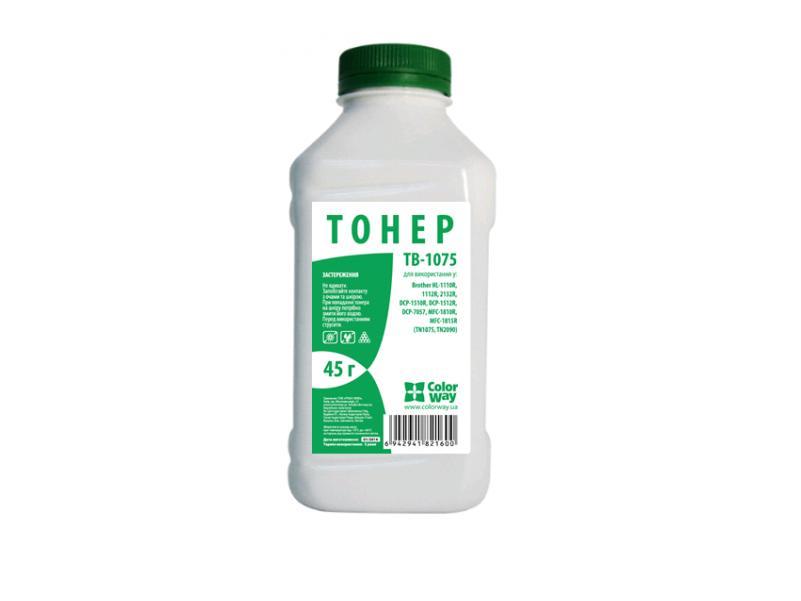 Купить Тонер Colorway TB-1075 Brother HL-1112/2132, DCP-1521/7057 чорний