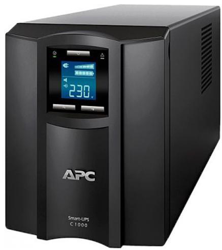 Купить Пристрої безперебійного живлення UPS, ПБЖ (UPS) APC Smart-UPS C1000VA LCD, SMC1000I