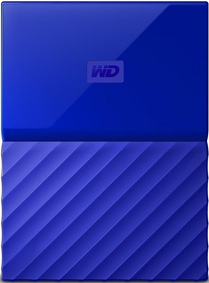Купить Зовнішній жорсткий диск Western Digital My Passport 1 ТБ синій, WDBYNN0010BBL-WESN