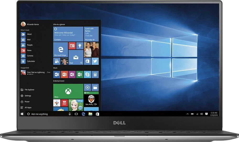Ноутбук Dell XPS 13 9360 X358S2W-418 Silver