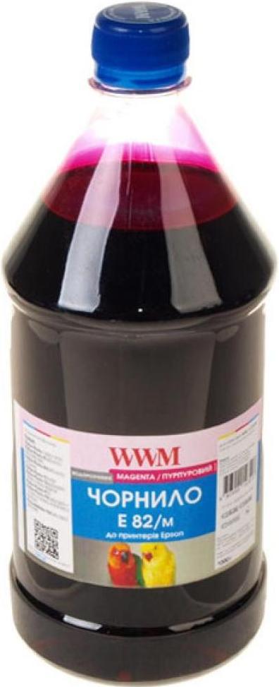 Купить Чорнило WWM E82/M-4 Epson Stylus Photo T50/P50/PX660 1000 г малинове