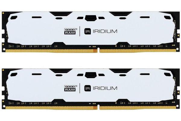 Купить Пам'ять GoodRam Iridium White DDR4 2x4 ГБ (IR-W2400D464L15S/8GDC)