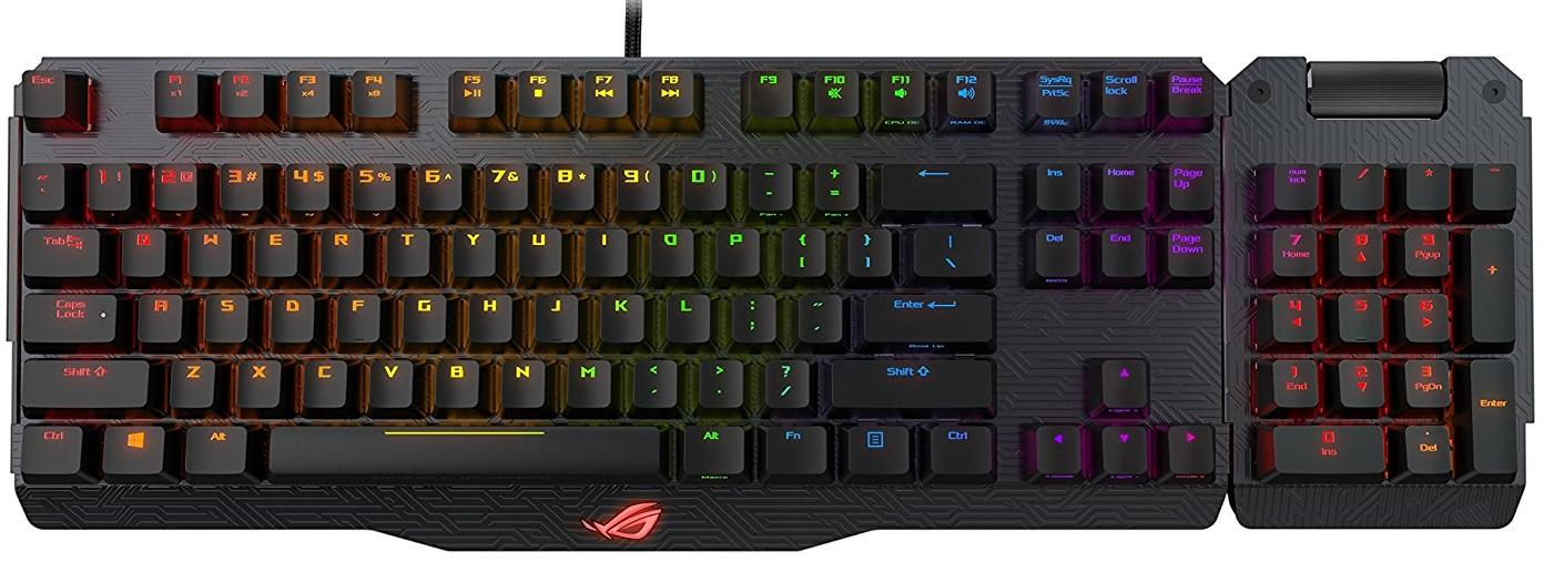 Купить Клавіатура ASUS ROG Claymore MX Cherry Black (90MP00E2-B0EA00)