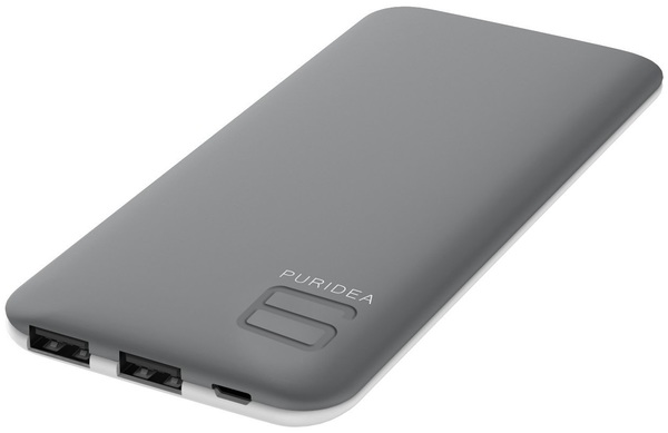 Купить Батарея універсальна Puridea S4 6000mAh Grey/White (S4-Grey White)