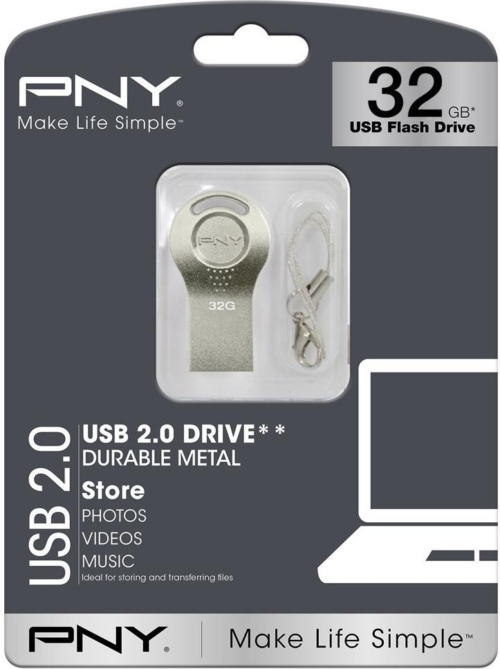 Купить Флешка USB PNY Attache i 32GB FDI32GATTI-EF Silver