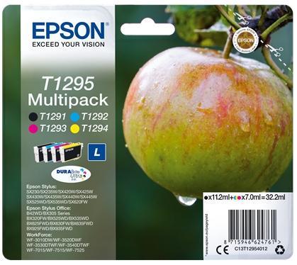 Купить Картридж Epson St SX420W/425W Large Bundle (C, M, Y, Bk) new, C13T12954012