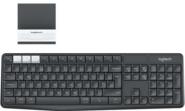 Купить Клавіатура Logitech K375s Multi-Device plus stend (920-008184)