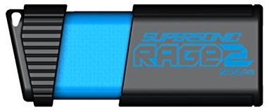 Купить Флешка USB Patriot Supersonic Rage 2 256GB PEF256GSR2USB Black