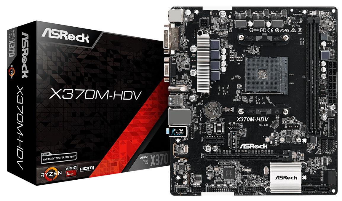 Купить Материнська плата AsRock X370M-HDV