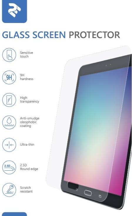 Аксесуари для планшетів, Захисне скло 2E for Apple iPad 2017/2018 9.7 - 2.5D (2E-TGIPD-PAD9.7)  - купить со скидкой