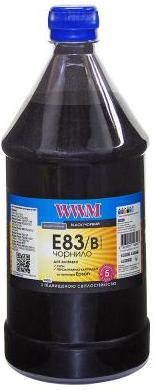 Купить Чорнило світлостійке WWM for Epson Stylus Photo T50/P50/PX660 Black 1000g (E83/B-4)