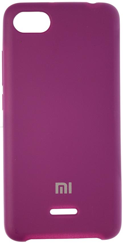 Купить Аксесуари для мобільних телефонів, Чохол HiC for Xiaomi Redmi 6A - Silicone Case Violet (SCXR6A-36)