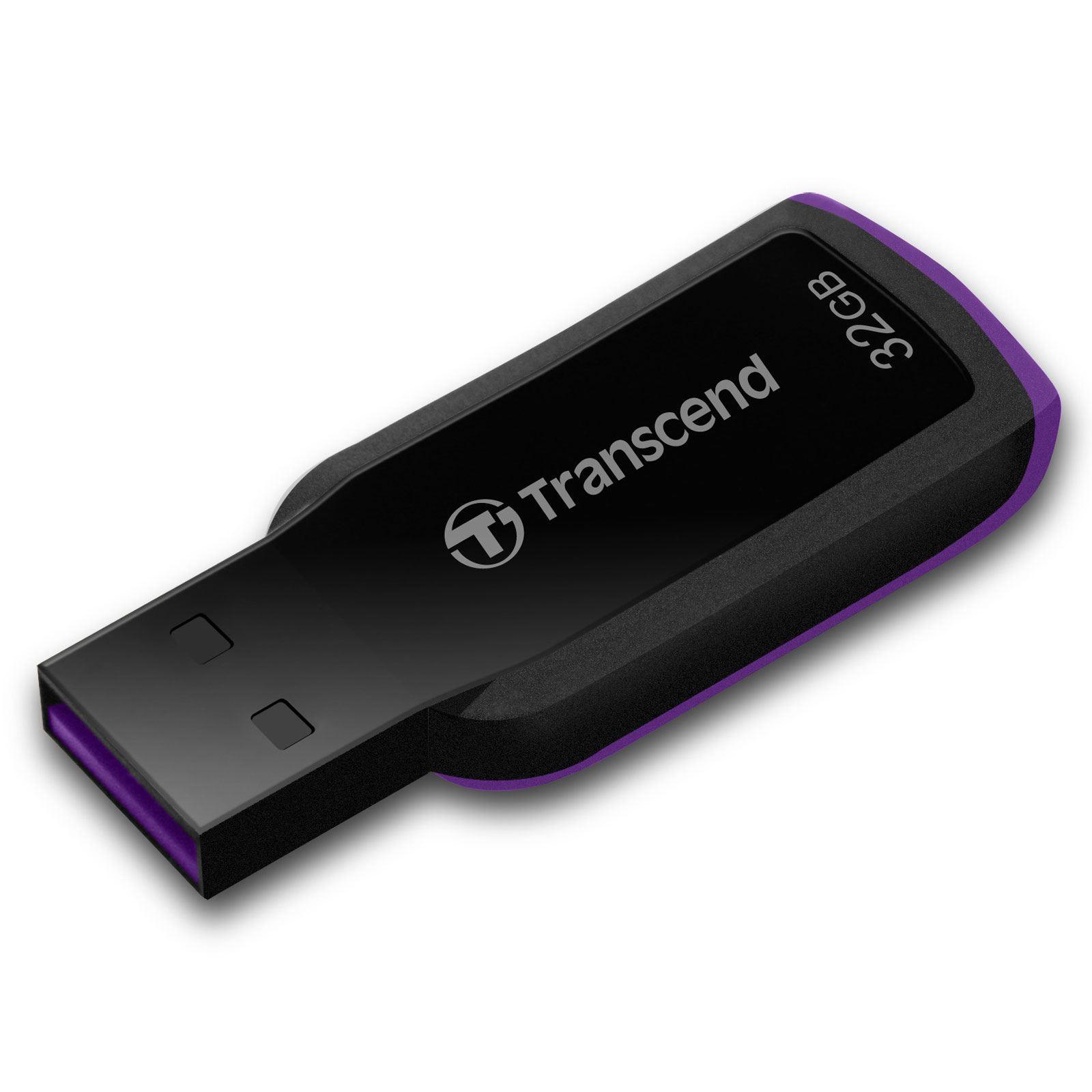 Купить Флешка USB Transcend 360 32ГБ (TS32GJF360) чорна