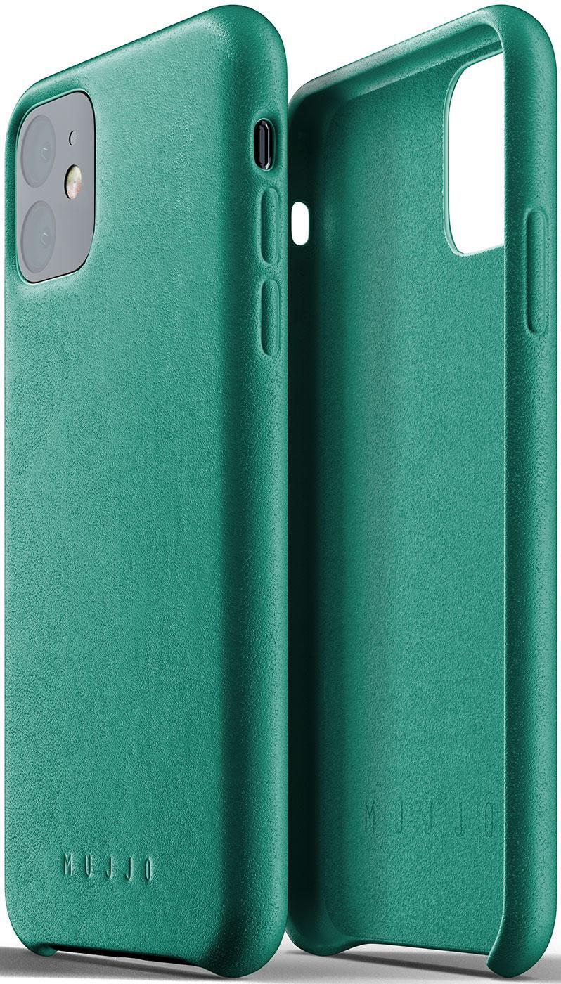 Купить Аксесуари для мобільних телефонів, Чохол MUJJO for iPhone 11 - Full Leather Alpine Green (MUJJO-CL-005-GR)