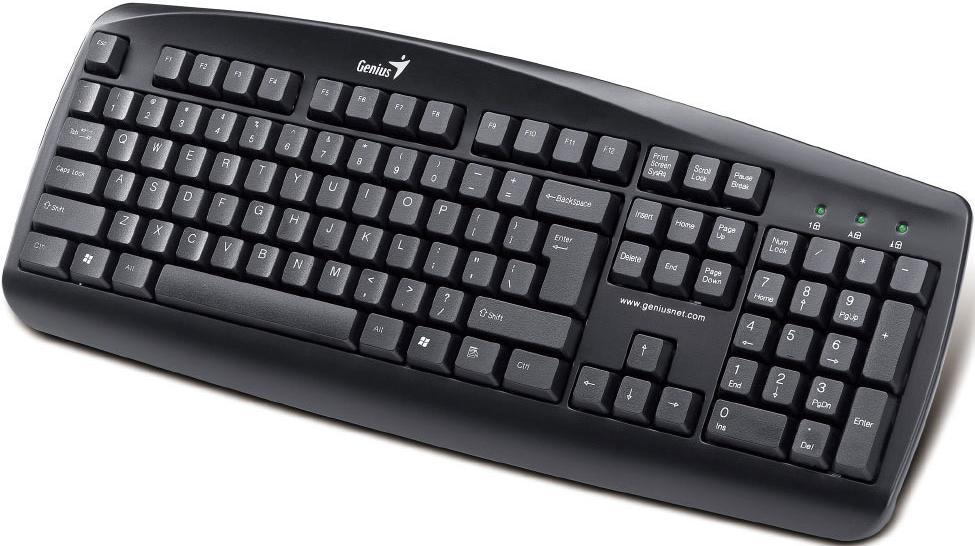 Купить Клавіатура Genius KB-110 чорна, 31300689104