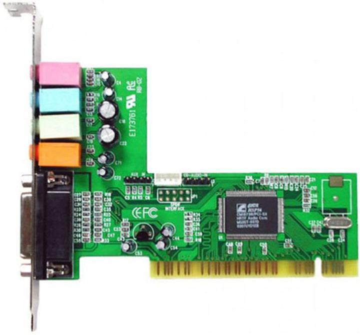 Купить Звукова карта Manli C-Media 8738 (M-CMI8738-4CH-Rev.1)