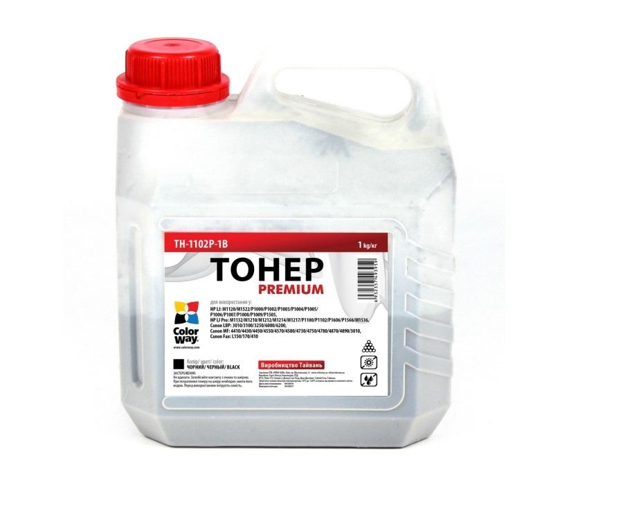 Купить Тонер Colorway HP LJ P1102/P1606/Canon 725/Canon 728 чорний, TH-1102P-1B