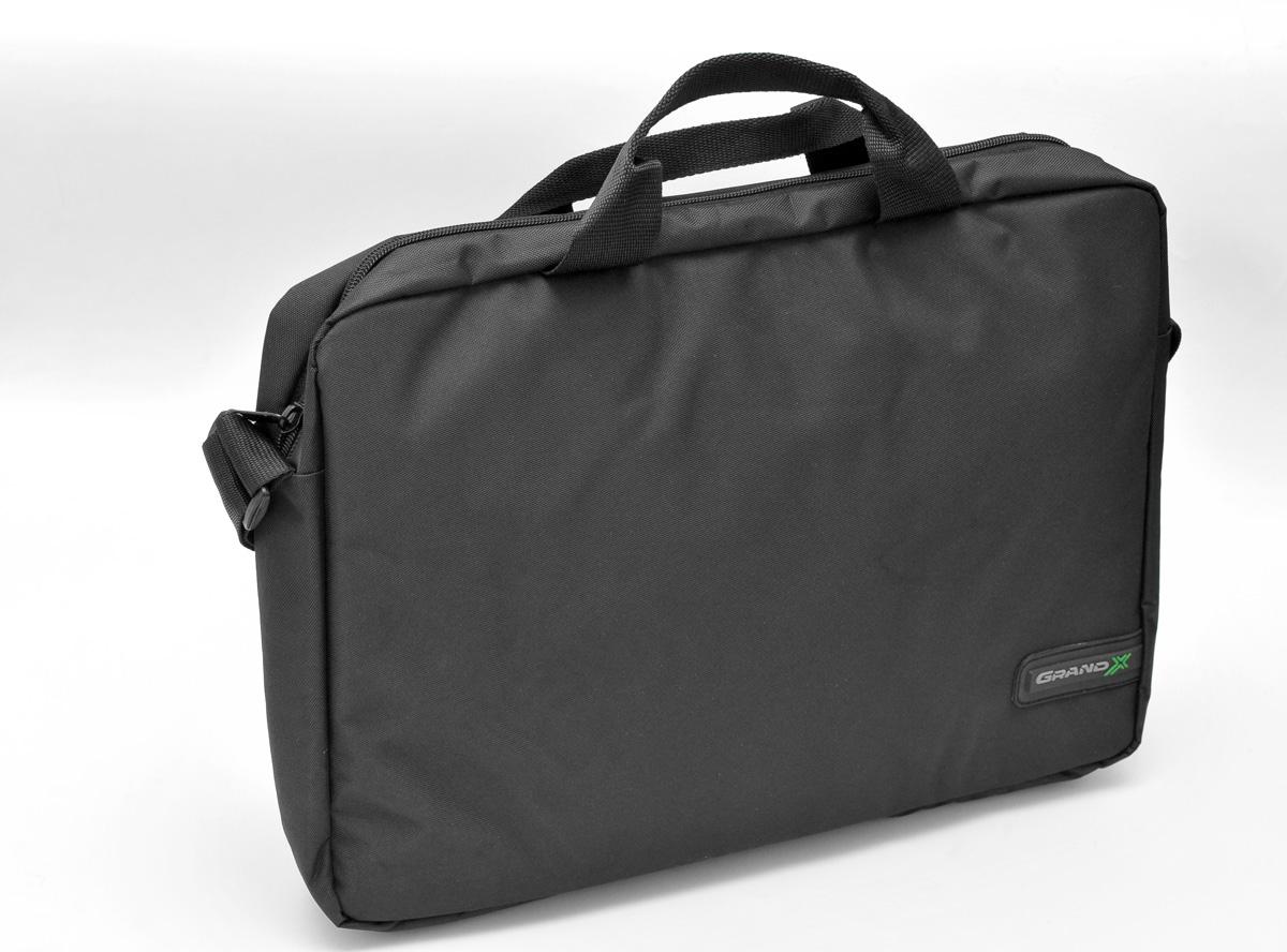 9d3a0ea1f1b2 Сумка для ноутбука Grand-X SB-115 черная – купить в интернет ...