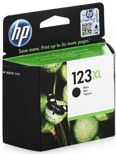 Купить Картридж HP № 123XL DJ 2130 чорний, F6V19AE, Hewlett-Packard