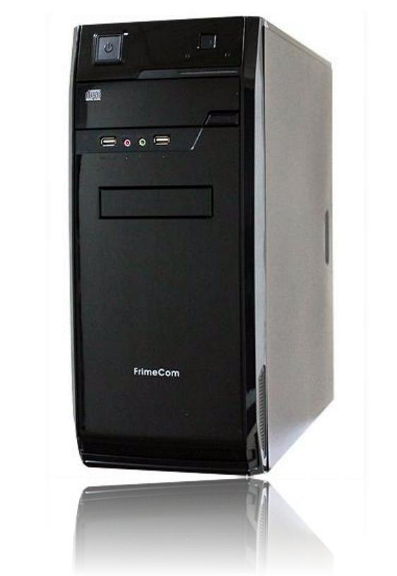 Купить Корпус Frimecom LB 057 400 Вт чорний, LB 057 BL