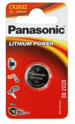 Купить Акумулятори та батареї, Батарейка Panasonic CR-2032EL/1B