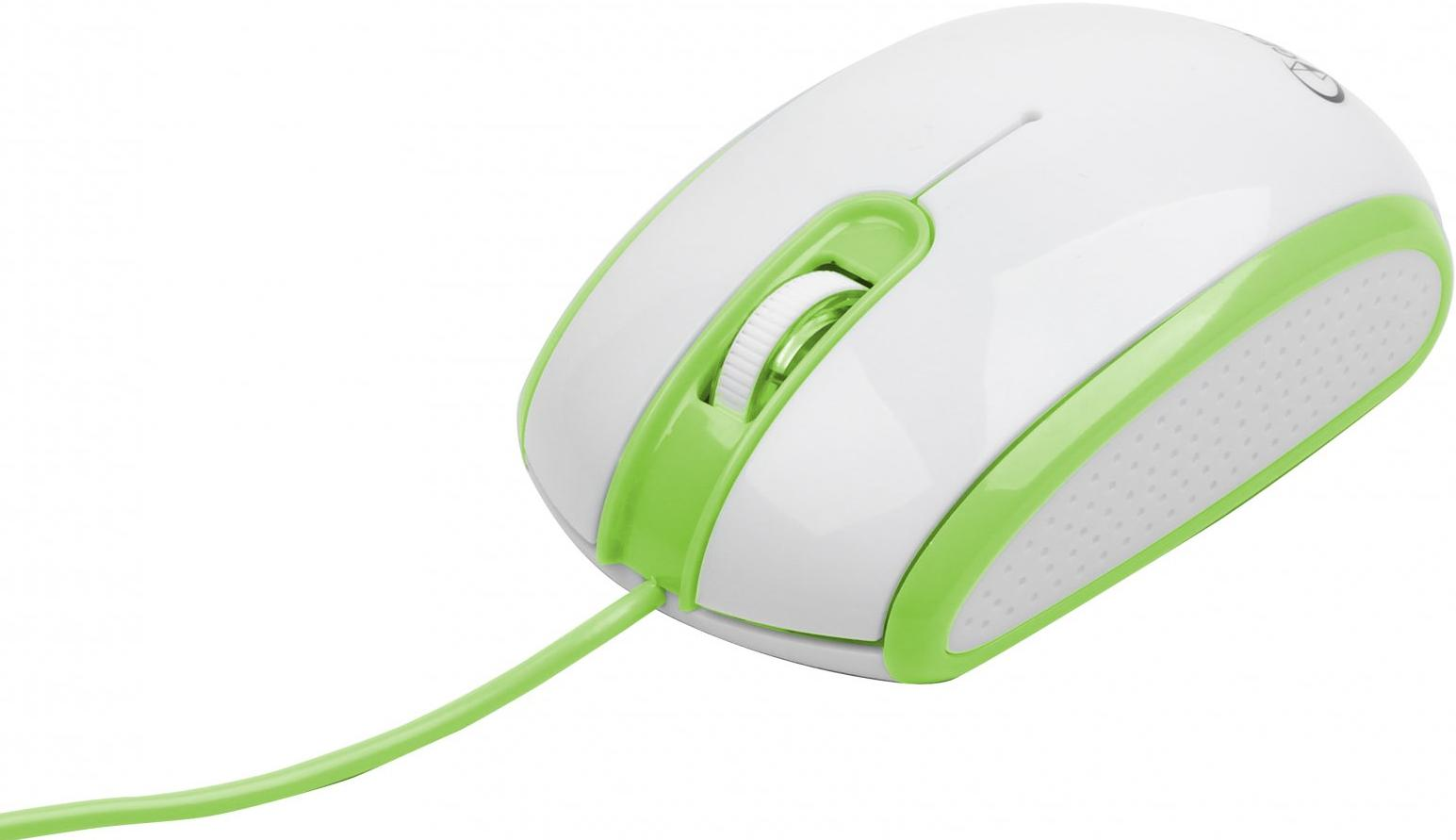 Купить Мишка Gembird MUS-105-G біло-зелена