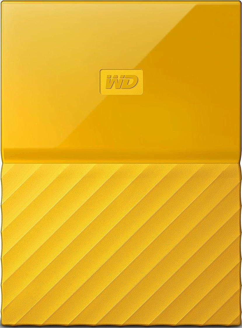 Купить Зовнішній жорсткий диск Western Digital My Passport 2TB WDBS4B0020BYL-WESN Yellow