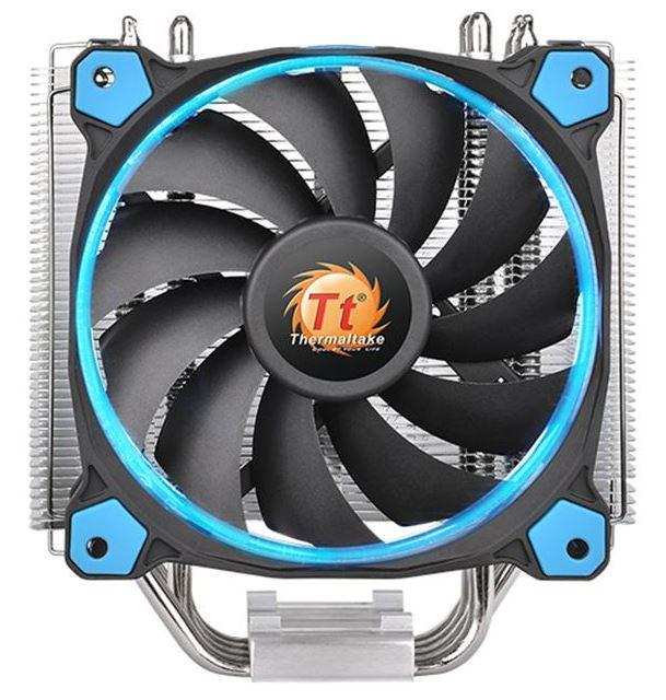 Купить Кулер для процесора Thermaltake Riing Silent 12 Blue, CL-P022-AL12BU-A