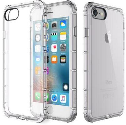 Купить Аксесуари для мобільних телефонів, Чохол Rock для iPhone 7 - Fence series прозорий, Rock iPhone 7 TPU