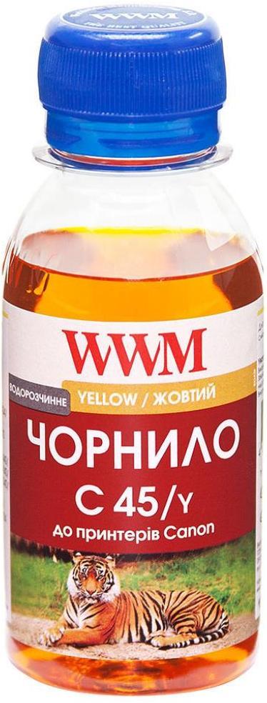 Купить Чорнило WWM Canon CL-441/CL-446/CLI-451C жовте, C45/Y-2