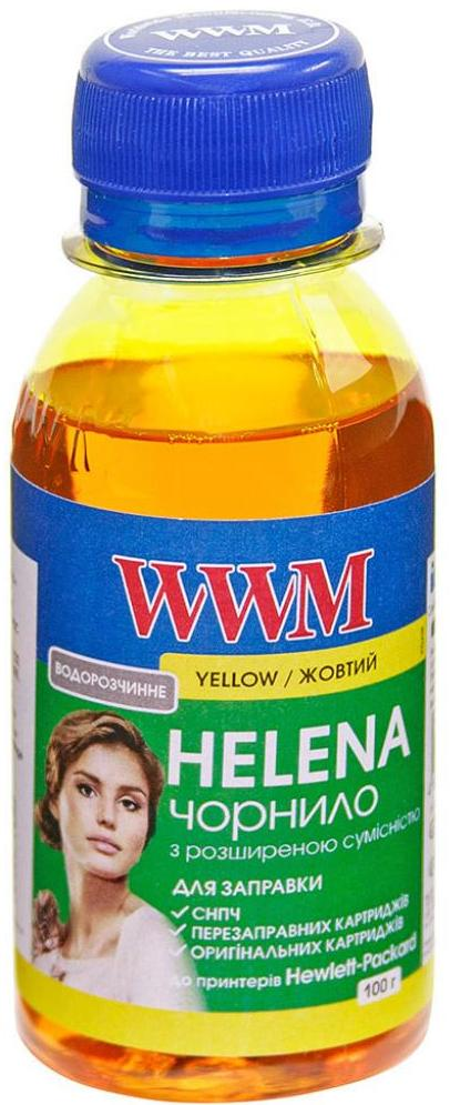 Чорнило WWM HP Universal HELENA HU/Y-2 жовте  - купить со скидкой