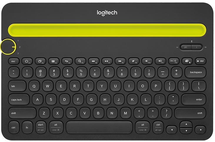 Купить Клавіатура Logitech K480 чорна, 920-006368