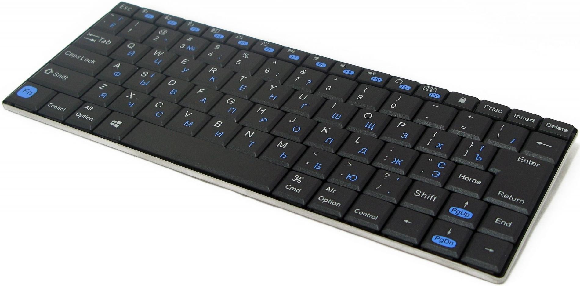 Купить Клавіатура Gembird KB-P6-BT-UA Phoenix чорна