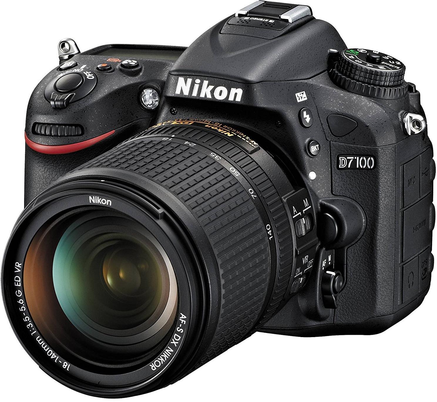 Купить Цифрова фотокамера дзеркальна Nikon D7100 kit AF-S DX 18-140 мм VR, VBA360KV02