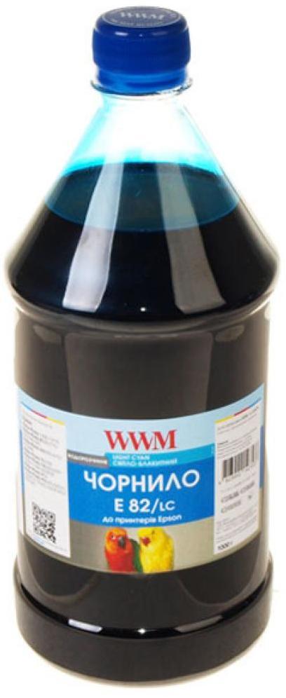 Купить Чорнило WWM E82/LC-4 Epson Stylus Photo T50/P50/PX660 1000 г світло-блакитне