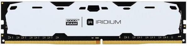 Купить Пам'ять GoodRam Iridium White DDR4 1x8 ГБ (IR-W2400D464L15S/8G)