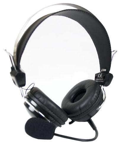 Купить Гарнітура A4 Tech HS-7Р чорна, HS-7P (Black), A4tech