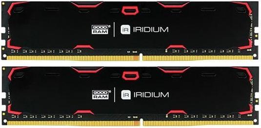 Купить Пам'ять GoodRam Iridium Black DDR4 2x8 ГБ (IR-2400D464L15S/16GDC)