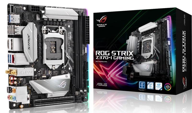 Купить Материнська плата ASUS Rog Strix Z370-I Gaming (ROG STRIX Z370-I GAMING)