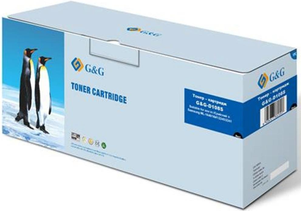 Купить Картридж G&G for Samsung ML-1640/2240/2241/1641/ 1645 Black, G&G-D108S