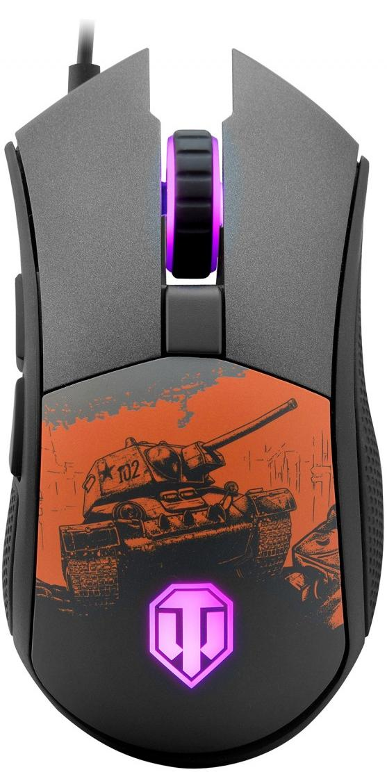 Купить Миша Cougar Revenger S World of Tanks USB Black (Revenger S 'World of Tanks')