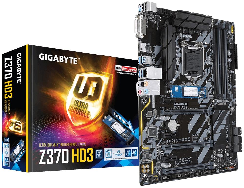 Купить Материнська плата Gigabyte Z370 HD3-OP