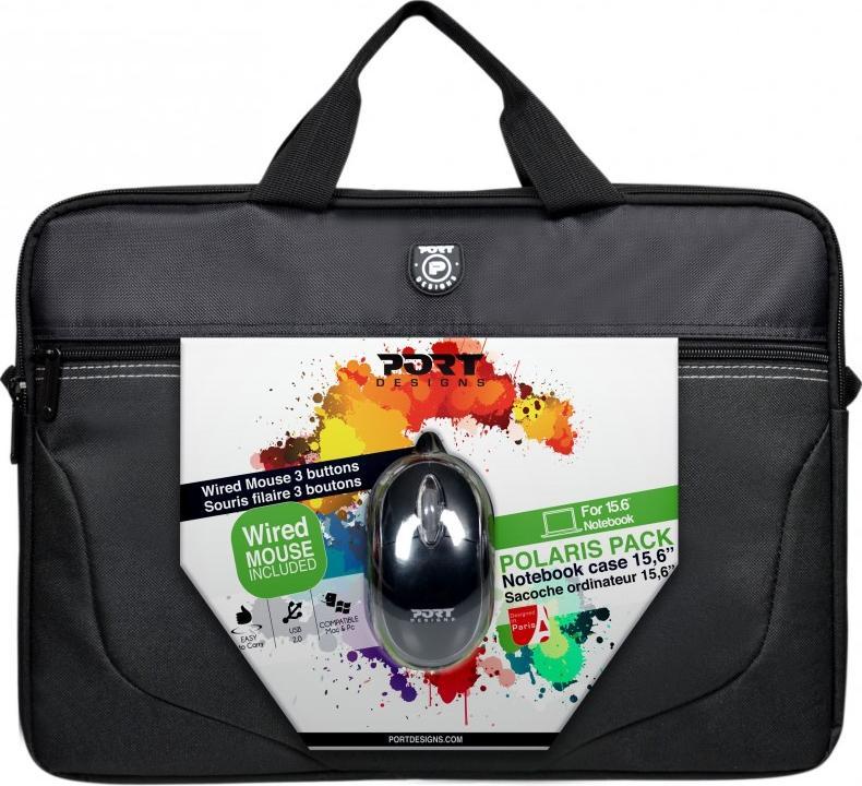 Купить Сумка для ноутбука Port Design Polaris Bandle Black, 501730, PORT DESIGNS