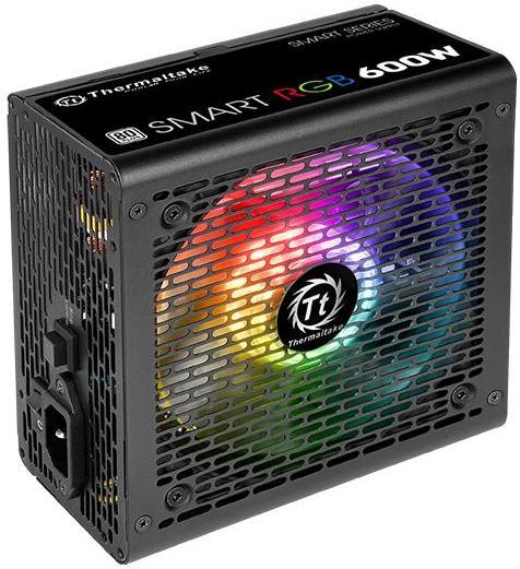 Купить Блок живлення Thermaltake Smart RGB 600W (PS-SPR-0600NHSAWE-1)