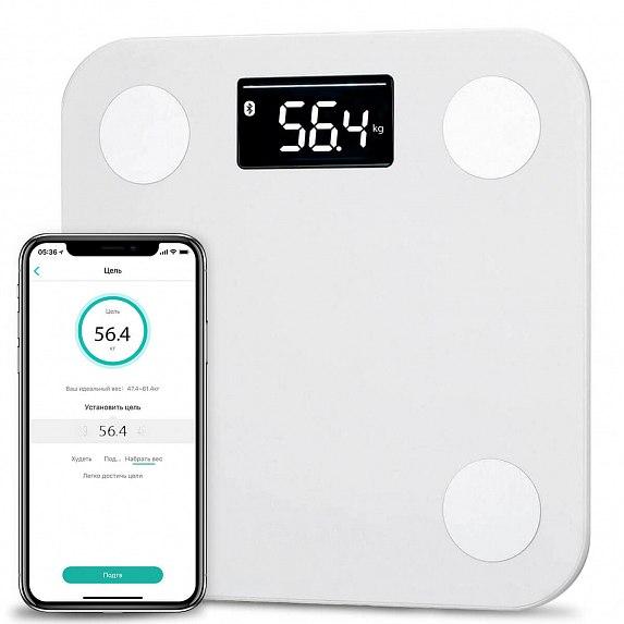 Купить Смарт-ваги YUNMAI Mini Smart Scale White (M1501-WH)