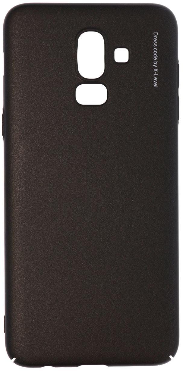 Купить Аксесуари для мобільних телефонів, Чохол X-LEVEL for Samsung J8 2018 - Knight series Black, КТС242653