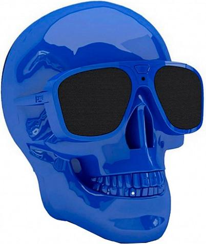 Купить Портативна акустика Jarre Technologies AeroSkull Nano Glossy Blue (ML80116)
