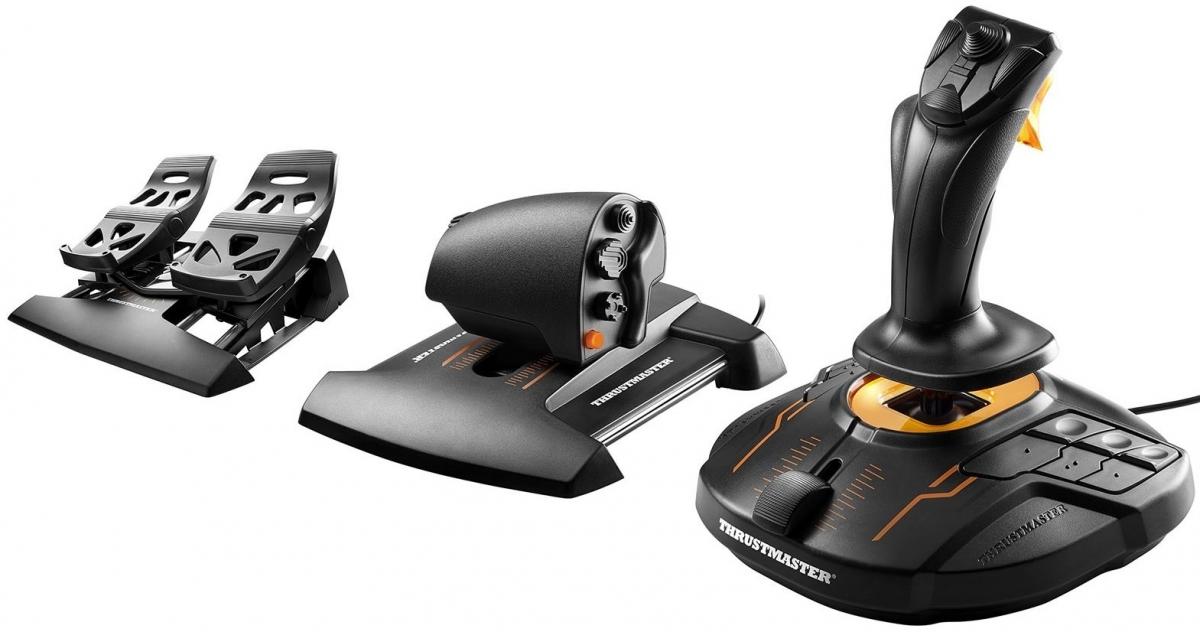 Купить Джойстики, рулі та геймпади, Джойстик Thrustmaster T.16000M FCS Flight Pack for PC (2960782)